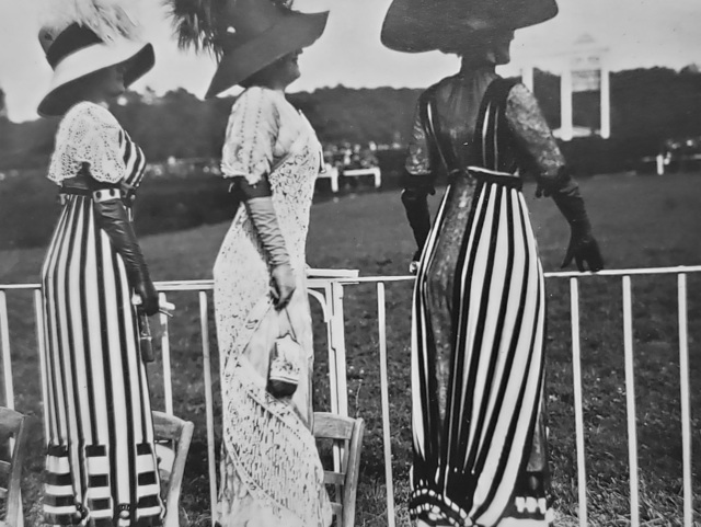 , 'Drag Racing Day at the Auteuil Races,' 1911, Afterimage Gallery