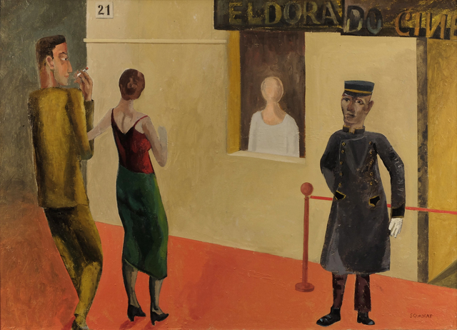 , 'Cinema Eldorado,' 2017, Sladers Yard