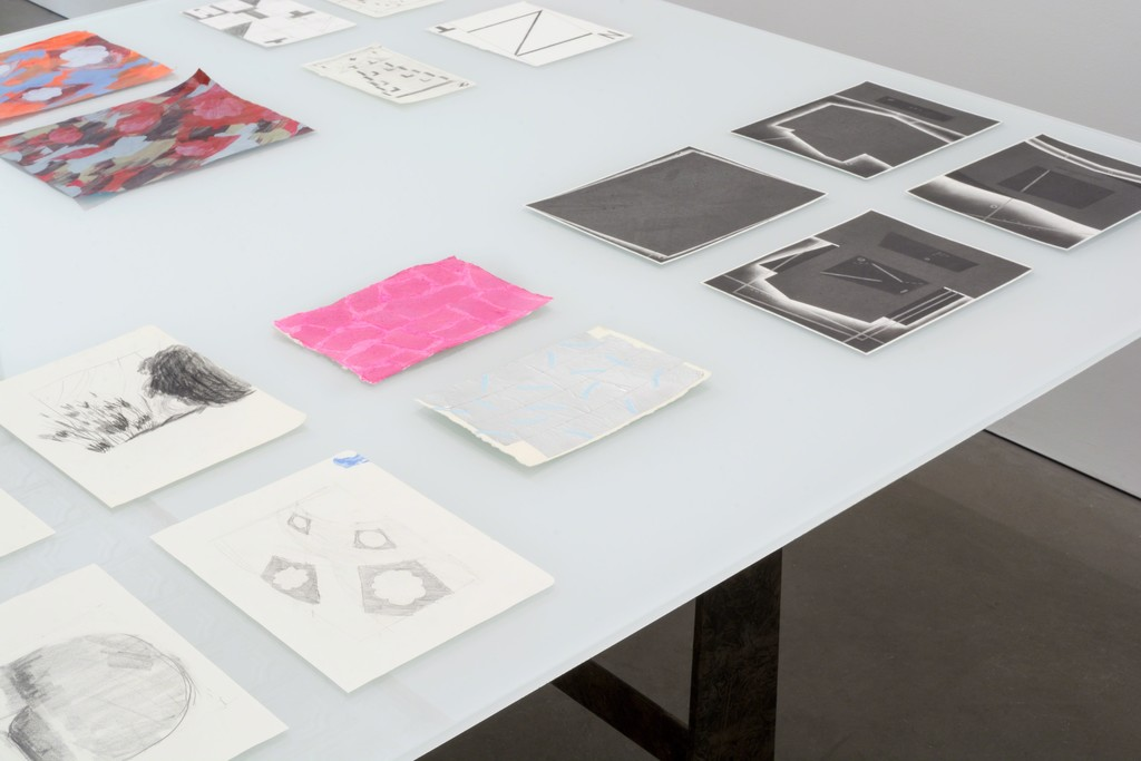Work by Rachael Gorchov, Charles Sommer, Denise Treizman, and Brian Edmonds in THE DRAWING IS THE MOVABLE FEAST.