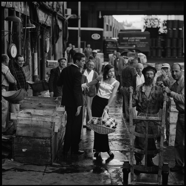, 'Anne St. Marie, Fulton Fish Market,' 1958, Staley-Wise Gallery