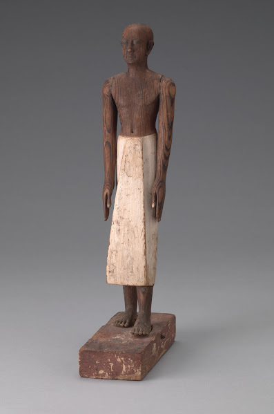 , 'Seneb, the royal scribe Egyptian, perhaps Meir, Middle Kingdom, early Dynasty 12,' ca. 1938, Legion of Honor