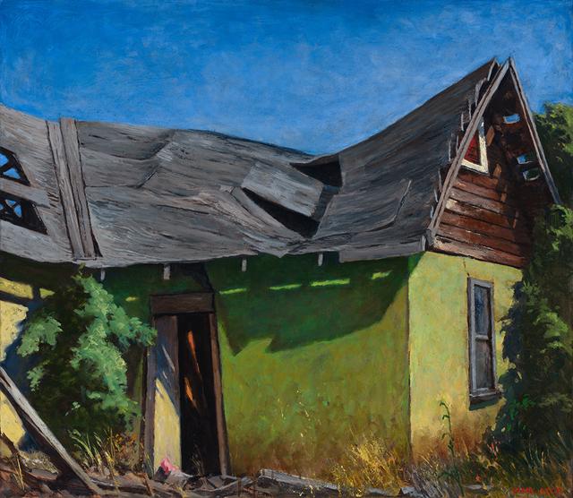 , 'Crumbling House,' 2018, Patricia Rovzar Gallery