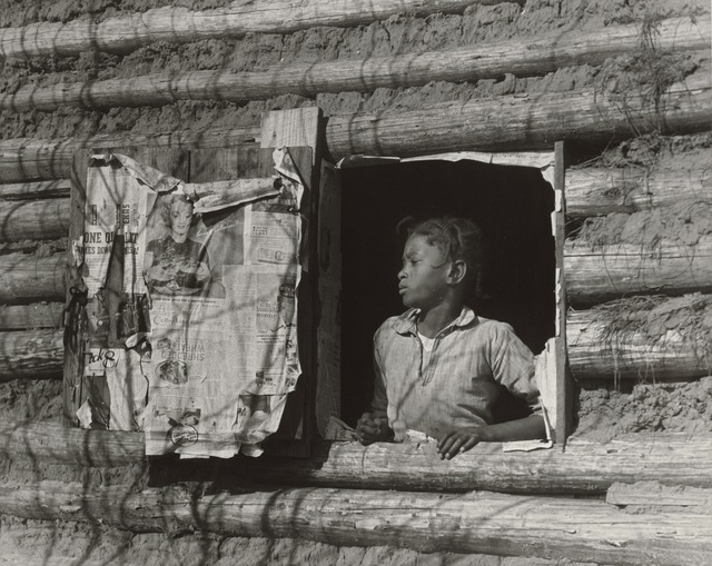 , 'Girl at Gee's Bend,' 1937, J. Paul Getty Museum