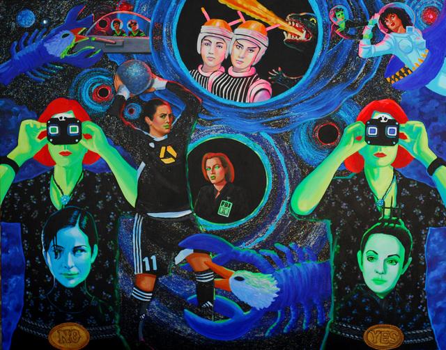 , 'Black Holes 2018,' 2016-2018, Ro2 Art