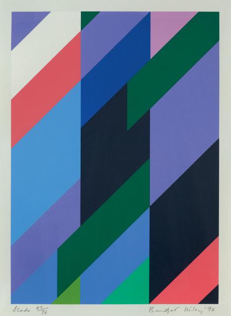 Bridget Riley, 'Shade', 1992, Karsten Schubert