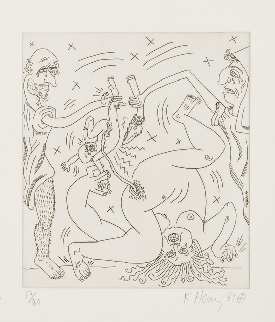 Keith Haring, 'Untitled (from The Valley Suite (see Littmann p.136-141)', 1989, Forum Auctions
