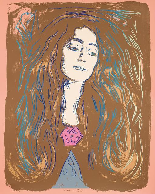 Andy Warhol, 'Eva Mudocci (After Munch)', 1984, Van Ham