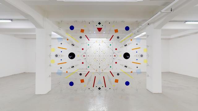 , 'Technological Mandala #141 - Perpetual nexus  00,' 2019, The Flat - Massimo Carasi