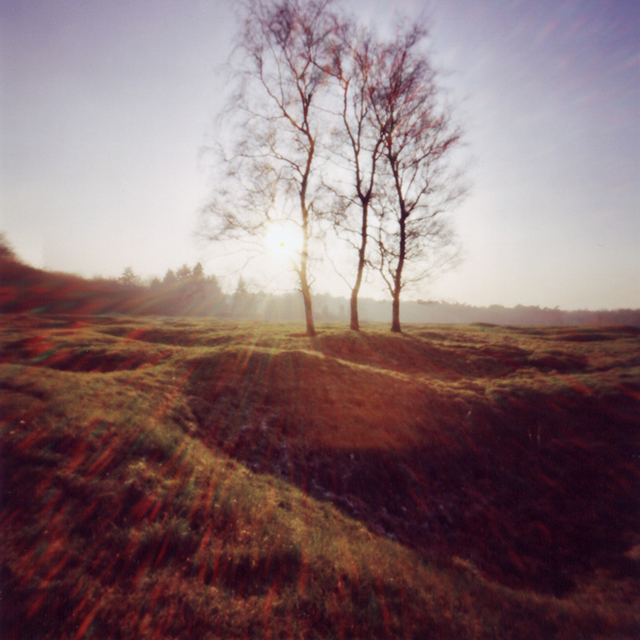 , 'Vimy Minefield, Setting Sun,' 2003, Newzones