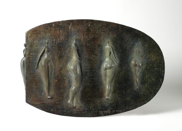 Marie-Madeleine Gautier, 'Bas Relief aux Cinq Nus', 2012, Canfin Gallery