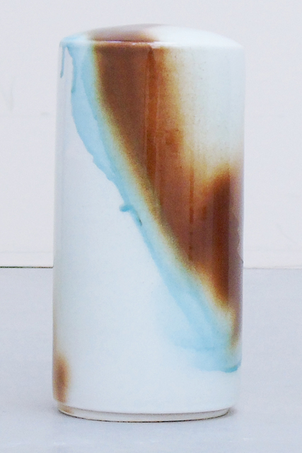 , 'column small - topaz/brown,' 2018, Galerie Judith Andreae