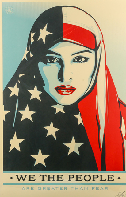 Shepard Fairey, 'We The People', 2017, Chiswick Auctions