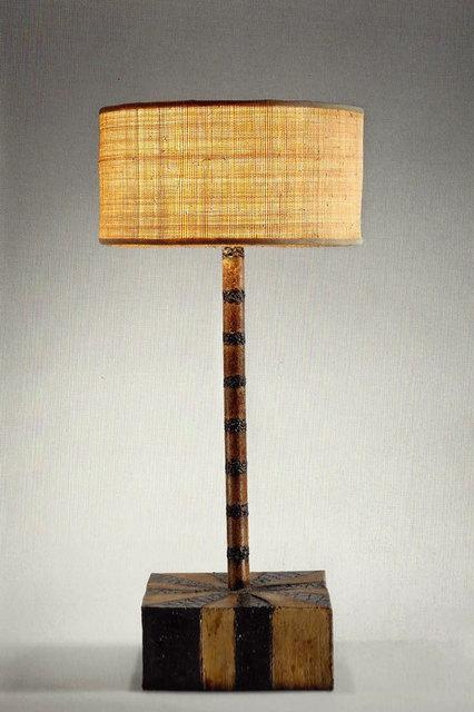 , 'Sculptural Steel Lamp,' 1958, Todd Merrill Studio