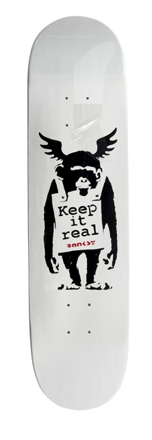 Banksy, 'Keep It Real', Digard Auction