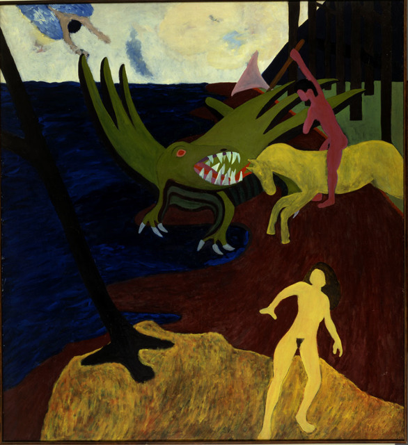 , 'St. George and the Dragon,' ca. 1961, Newark Museum