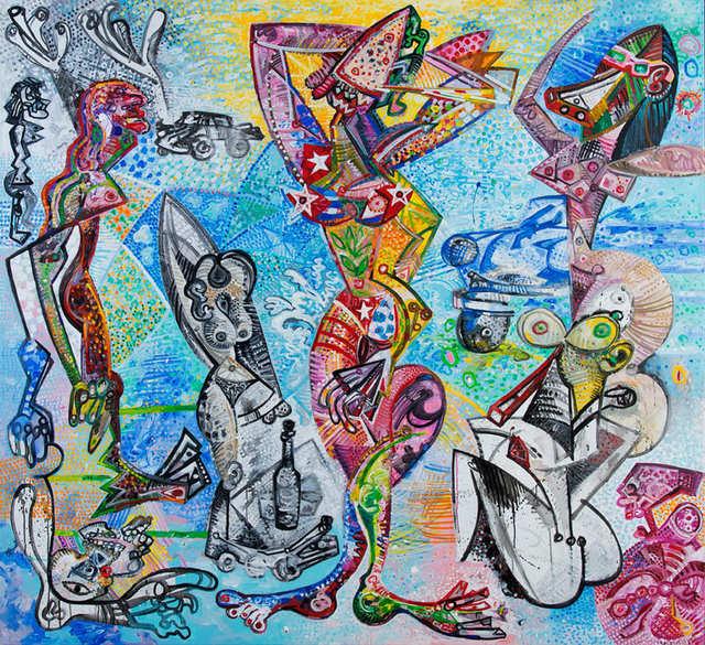 Carlos Boix, 'Les Demoiselles de La Havane, 2016', 2016, Bel-Air Fine Art