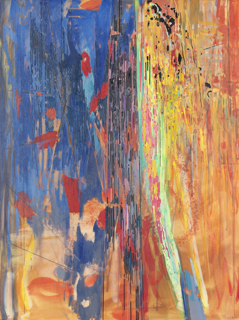 Clive van den Berg, 'African Landscape V', 2019, Painting, Oil on canvas, Goodman Gallery