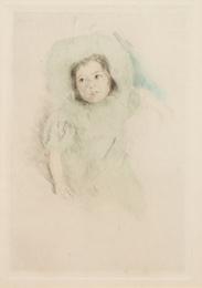 Margot Wearing a Bonnet (No. 1)