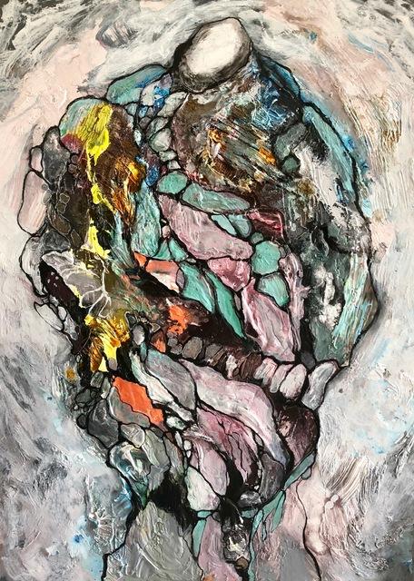 Gilbert Salinas, 'Untitled 4 - Hominidae Series', 2018, Alessandro Berni Gallery