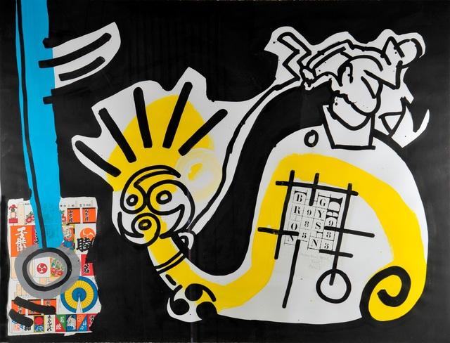 Keith Haring, 'UNTITLED  (Brion Gysin)', 1988, Galleria Alfieri