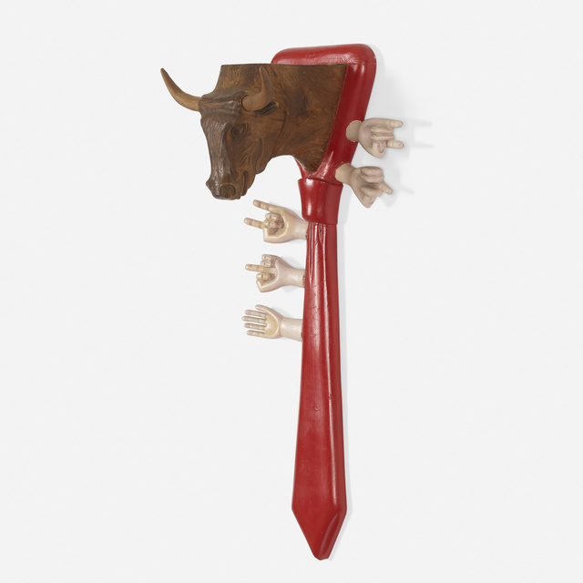 Pedro Friedeberg, 'Untitled (Bull Tie)', c. 1980, Wright