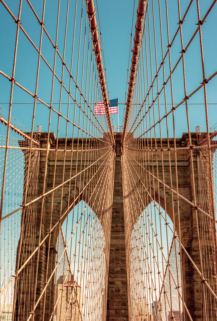 , 'Brooklyn Bridge ,' 2019, 9 Strokes Gallery
