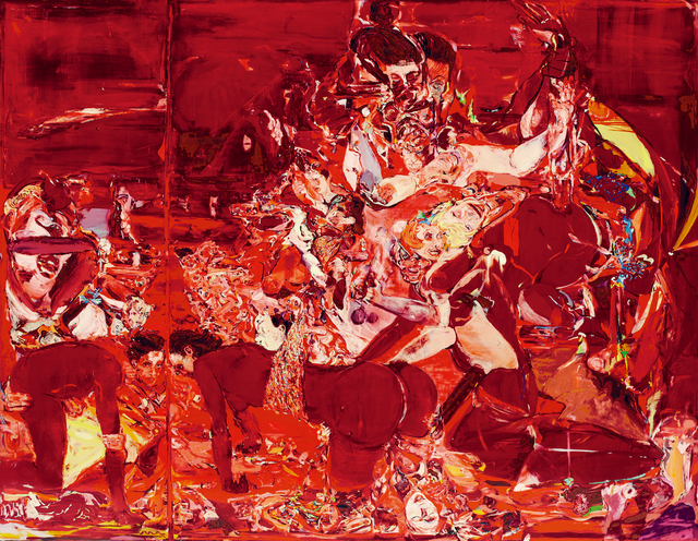 Cecily Brown, 'The Pyjama Game', 1997-98, Seoul Auction