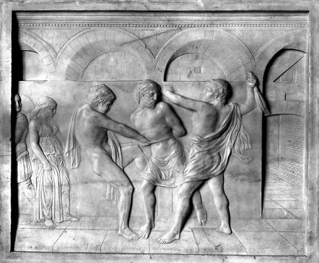 , 'Geißelung Christi (Flagellation of Christ),' ca. 1430, Bode Museum