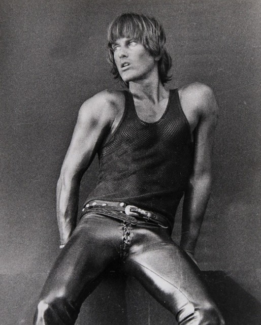 , 'Self Portrait in Black Mesh Tank Top, Broadway, New York City,' 1976, ClampArt