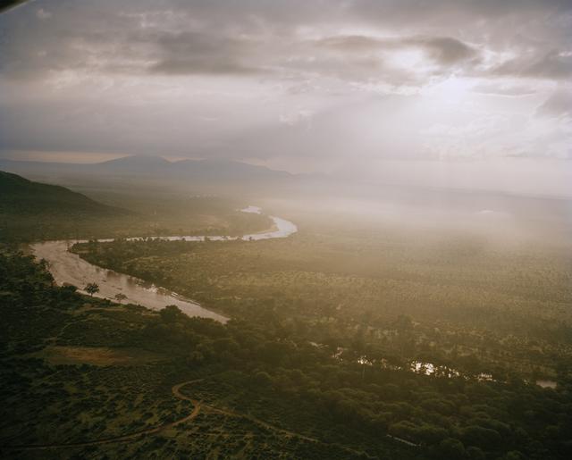 , 'Rainstorm, Ewaso Nyiro River, Northern Kenya,' 2014, Francesca Maffeo Gallery