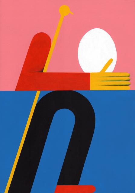 , 'Ei,' 2016, Spoke Art