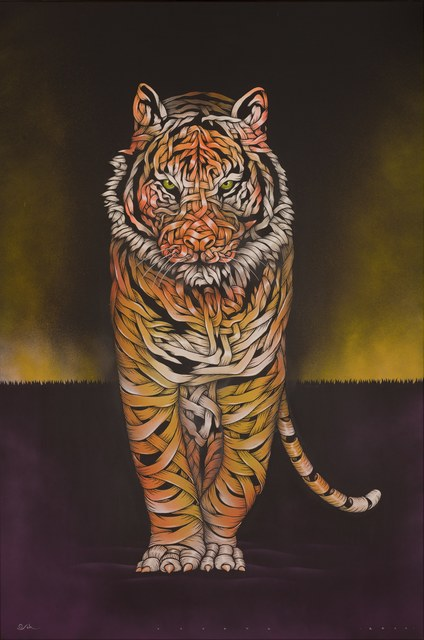 , 'Tiger threat,' 2018, GCA Gallery