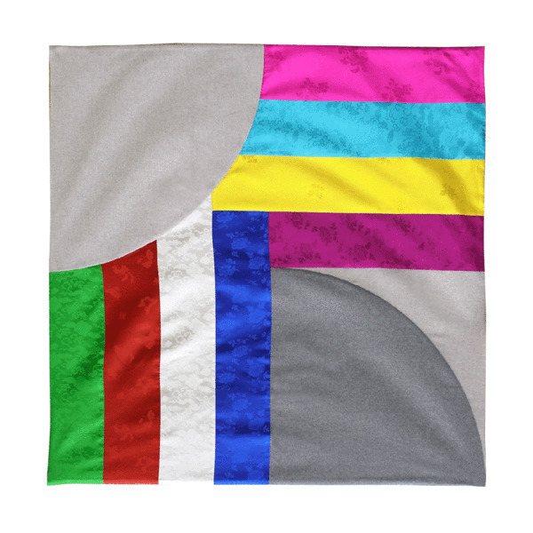 , 'Rainbow Plaids-Blanket,' 2018, Soluna Fine Art