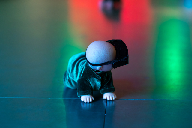 , 'Bobo 寶寶,' 2017, Edouard Malingue Gallery