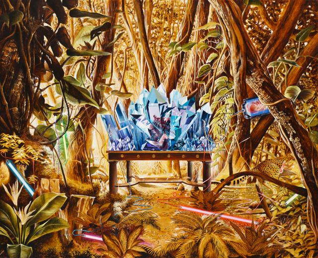 , 'Living construction in the garden of memory (Blue Sapphire) ,' 2018, Chan + Hori Contemporary