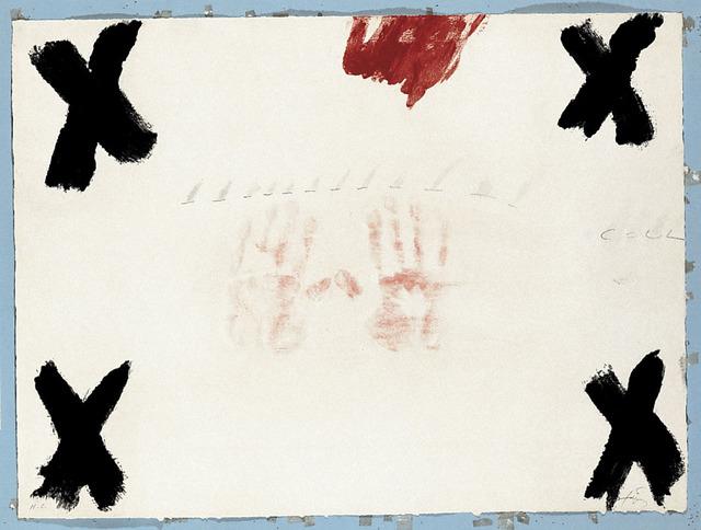 , 'Dues mans,' 1976, Polígrafa Obra Gráfica