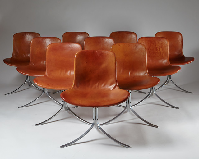 , 'Dining chairs PK9 ,' 1961, Modernity
