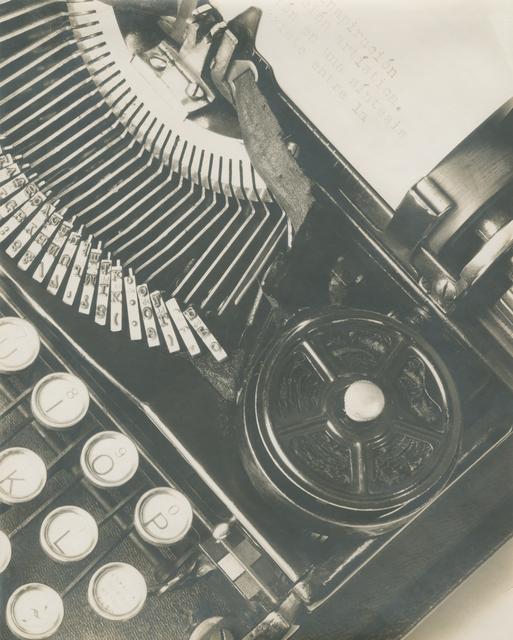 Tina Modotti, 'Mella's Typewriter or La Técnica (', 1928, Throckmorton Fine Art