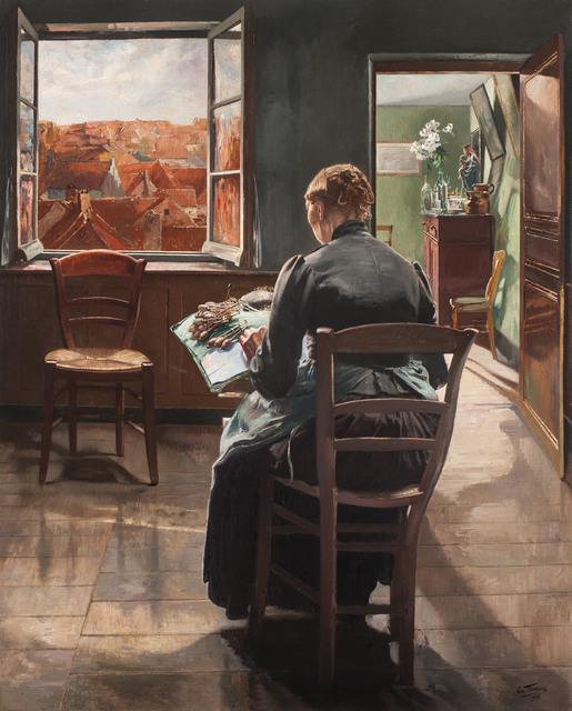 , 'La dentellière flamande (The Flemish Lace Maker),' 1907, Jack Kilgore & Co.