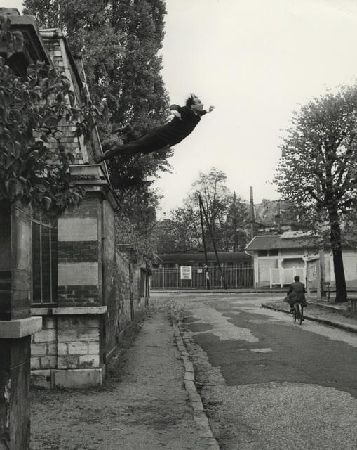 """, '""""Saut dans le Vide"""",' 1960, Lee Gallery"""