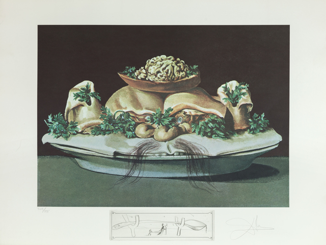 Salvador Dalí, 'Supremes of Lilliputian Malaises (Supremes of Lilliputian Malaises)', 1971, Heather James Gallery Auction