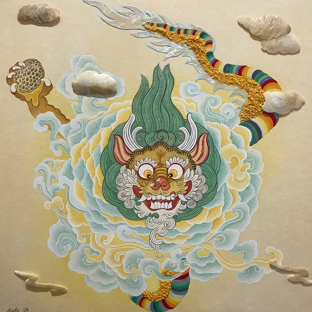 , 'Baby Yellow Dragon ,' 2018, Kate Oh Gallery
