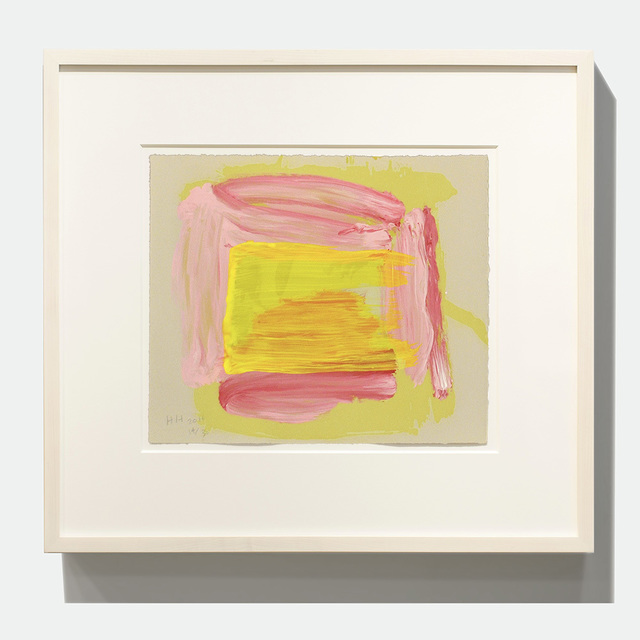 Howard Hodgkin, 'A Pale Reflection', Jonathan Novak Contemporary Art