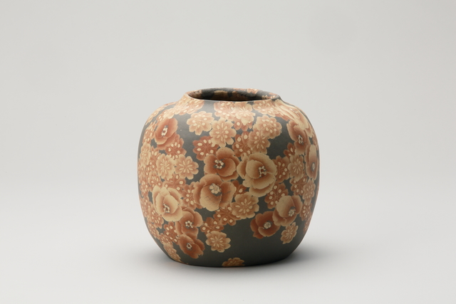 , 'Mumyōi Neriage Round Jar with Flower Patterns,' 2016, Onishi Gallery
