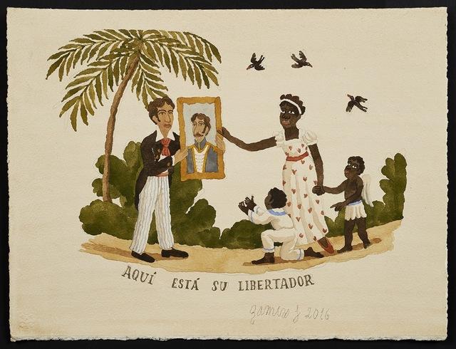 , 'Caribbean Scene ,' 2016, Long & Ryle