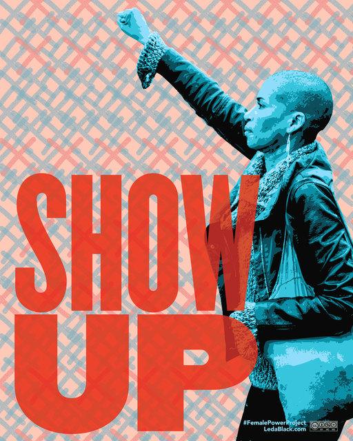 , 'Show Up,' , Zenith Gallery