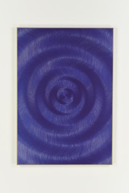 , 'Coalescence (Iridescent Violet Blue),' 2017, Galerie Mark Müller