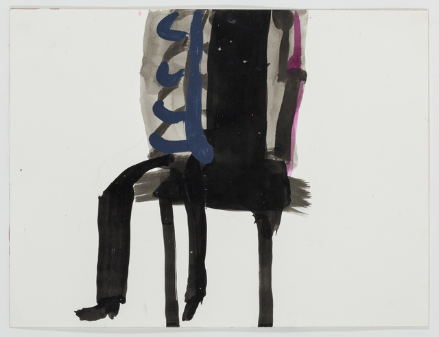 , 'Sans titre - Untitled (femme assise - seated woman),' 2015, Michel Rein Paris/Brussels