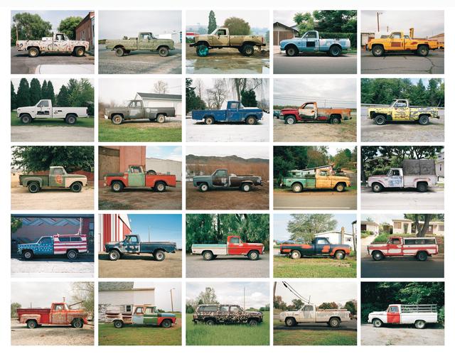 , 'Partially Painted Pickup Trucks Portfolio,' 1994-2006, Robert Mann Gallery