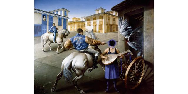 , 'Doña Cecilia,' 1997, Galería Duque Arango
